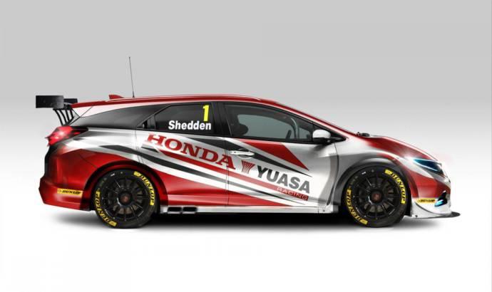 Honda Civic Tourer BTCC introduced