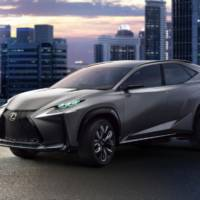 Lexus LF-NX Turbo Concept expected in Tokyo Motor Show