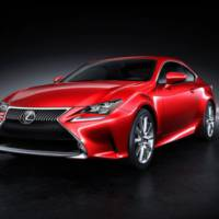 Lexus RC Coupe unveiled