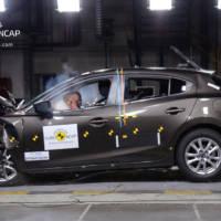 Mazda3 awarded 5 stars in EuroNCAP