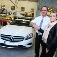 Mercedes sold its 100.000 car in the UK during a year