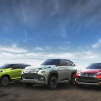 Mitsubishi GC-PHEV, Mitsubishi XR-Phev and Mitsubishi Concept AR unveiled