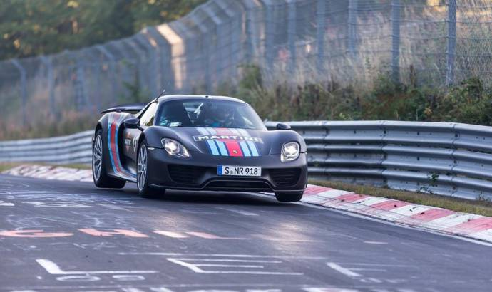 Porsche 918 Spyder updated