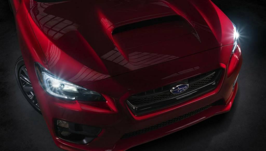 Subaru WRX teased