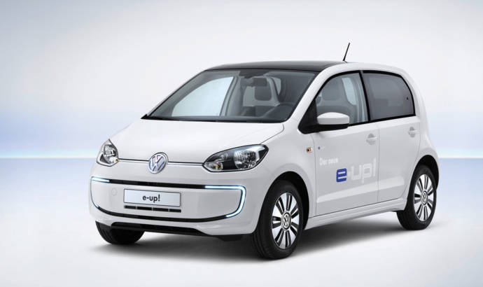 Volkswagen e-up! UK pricing