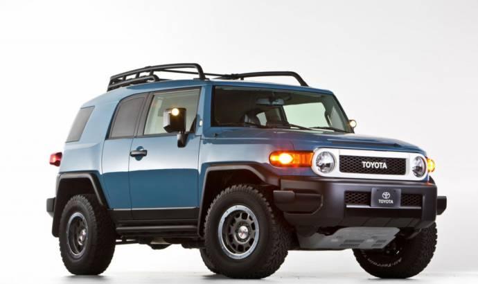 2014 Toyota FJ Cruiser Trail Teams Ultimate Edition says goodbye