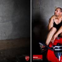 Ducati Panigale 1199 - Dudes versus Pinup girl