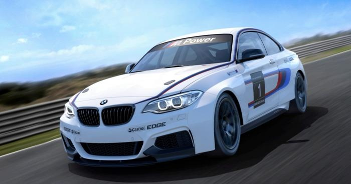 2014 BMW M235i Racing - Full technical details revealed