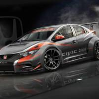 2014 Honda Civic hatchback WTCC previewed on Facebook