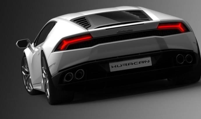 2014 Lamborghini Huracan - official photos and info