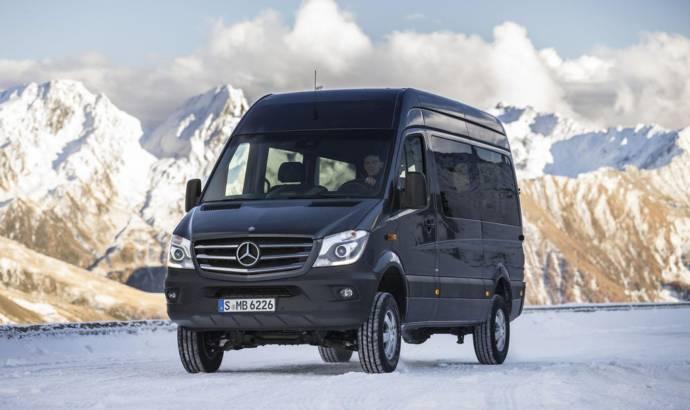 2014 Mercedes Sprinter 4x4 announced