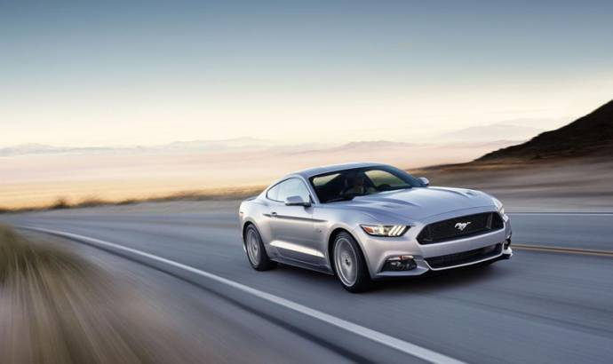 2015 Ford Mustang - first unit to be auctioned