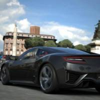 Acura NSX launched in Gran Turismo 6