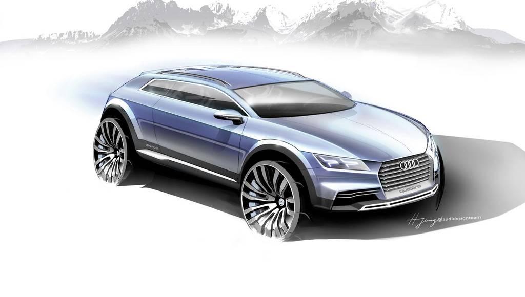 Audi Q1 Concept sketch unveil