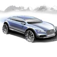 Audi Q1 Concept sketch unveil
