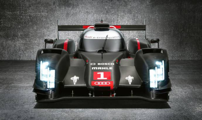 Audi R18 e-tron quattro to feature laser light