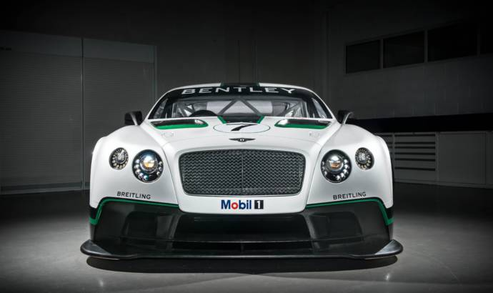 Bentley Continental GT3 to race in 2014 British GT