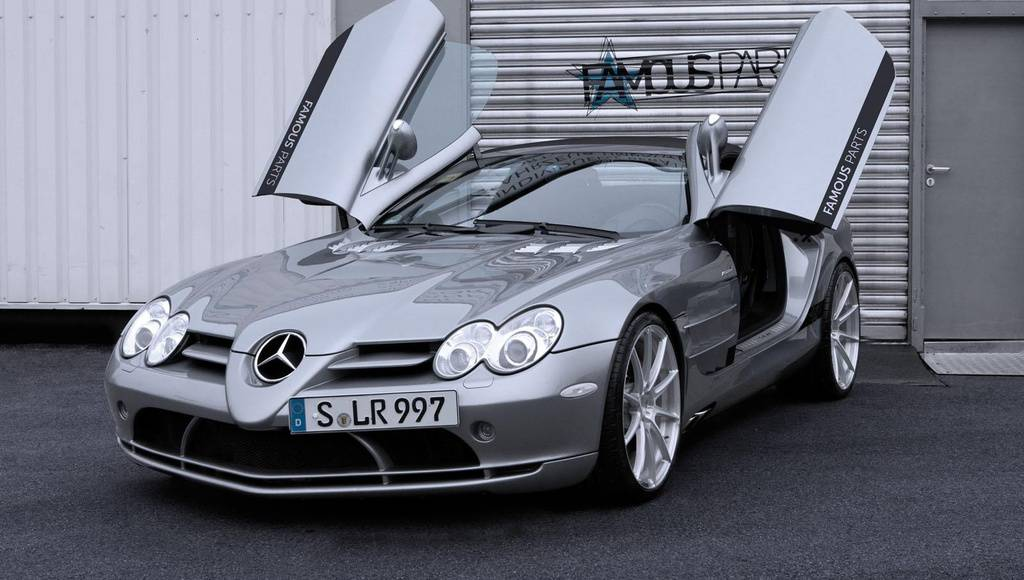 Famous Parts Mercedes SLR Roadster tuning program