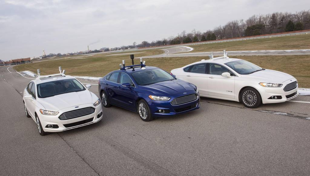 Ford Fusion Hybrid Automated Research Vehicle announced