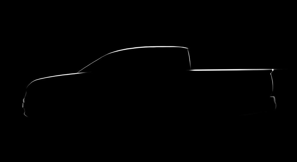 Honda Ridgeline Pickup teaser sketch