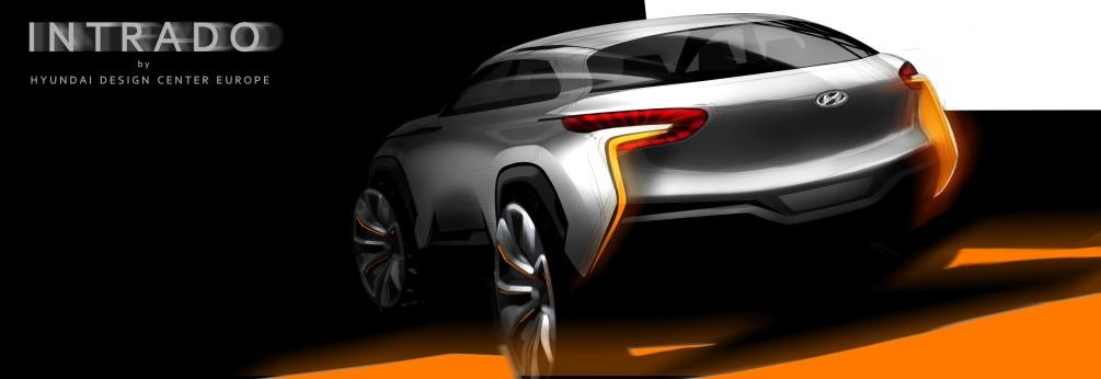 Hyundai Intrado Concept to debut in Geneva