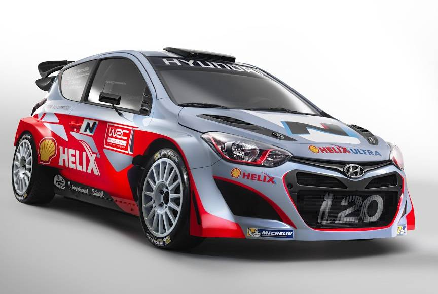 Hyundai i20 WRC and N division introduced