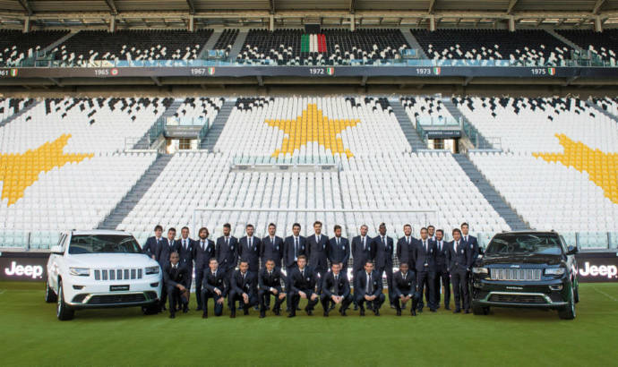 Jeep Grand Cherokees delivered for Juventus Torino team