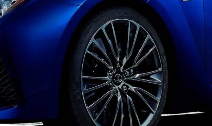 Lexus F teaser for Detroit