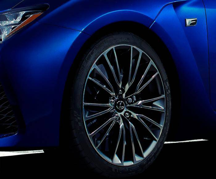 Lexus F teaser for Detroit