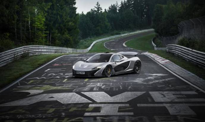 McLaren P1 lapped the Nurburgring in less than seven minutes (Video added)