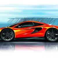 McLaren P13 will feature 444 HP