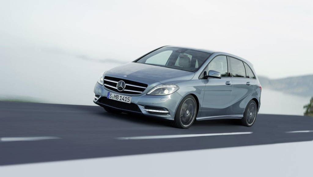 Mercedes B Class reaches one milion units sold