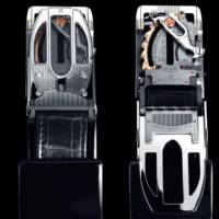 Bugatti and Roland Iten unveiled a belt buckle priced at $84000