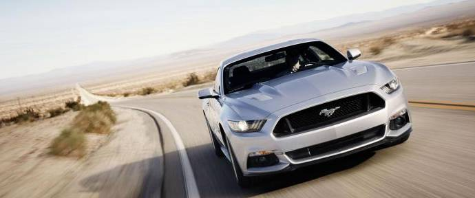 VIDEO: 2015 Ford Mustang traveling on Route 66