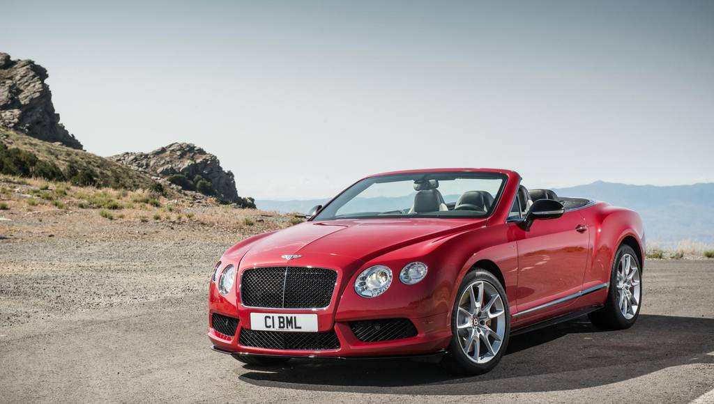 2014 Bentley Continental GT V8 S set for US debut