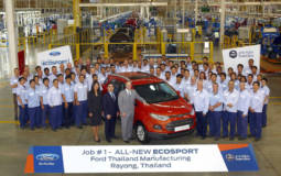 2014 Ford EcoSport enters production in Thailand