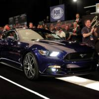 2014 Ford Mustang - first unit sold for 300.000 dollars
