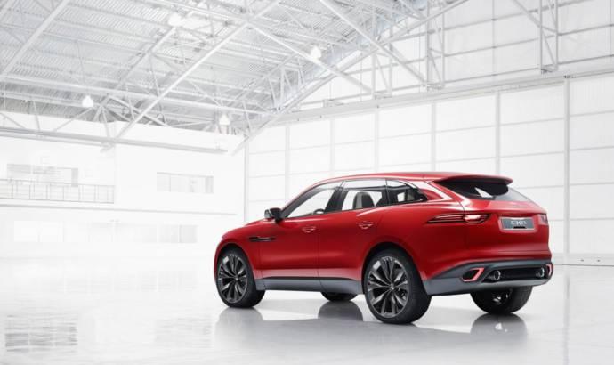 2014 Jaguar C-X17 Concept revealed at the Brussels Motor Show