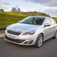 2014 Peugeot 308 - UK price