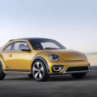 2014 Volkswagen Beetle Dune Concept introduced
