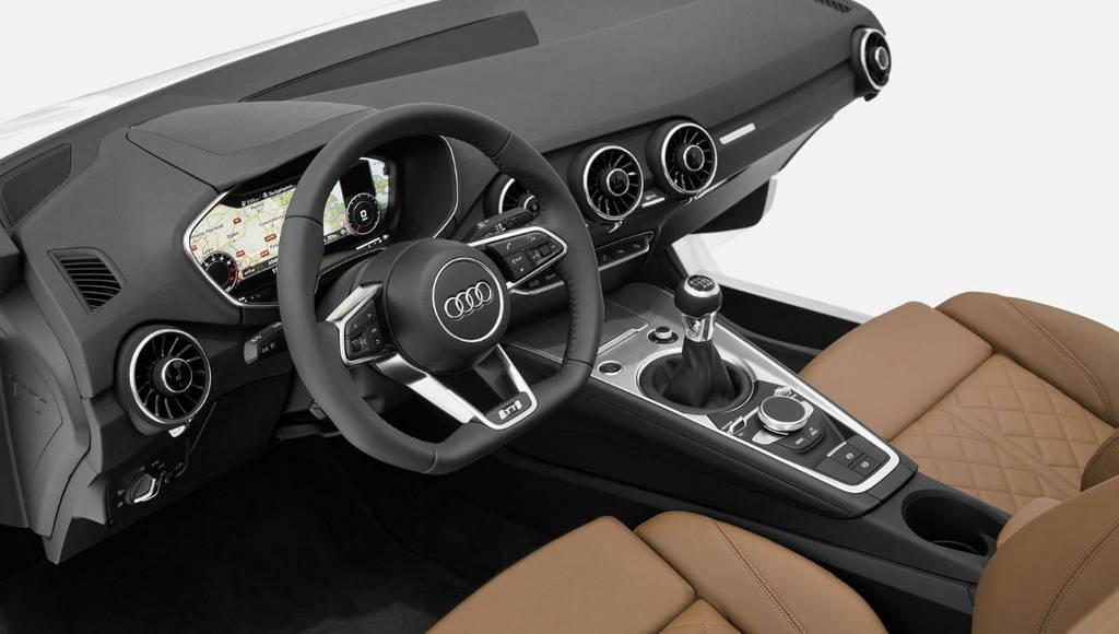 2015 Audi TT interior showcased at CES