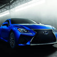2015 Lexus RC F Coupe unveiled