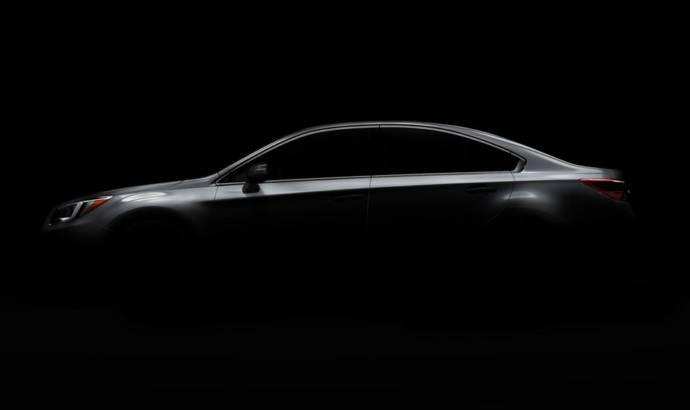 2015 Subaru Legacy teased