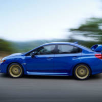 2015 Subaru WRX STI bows in Detroit