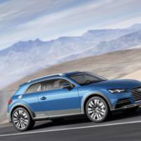 Audi Allroad Shooting Brake hints at future TT