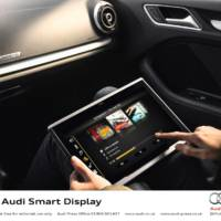 Audi Smart Display in-car entertainment tablet