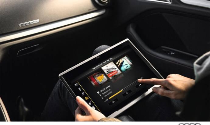 Audi Smart Display in-car entertainment tablet
