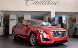 Cadillac is the fastest-growing premium brand in the US in 2013