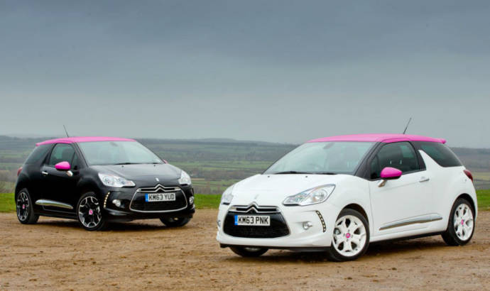 Citroen DS3 Pink available in the UK