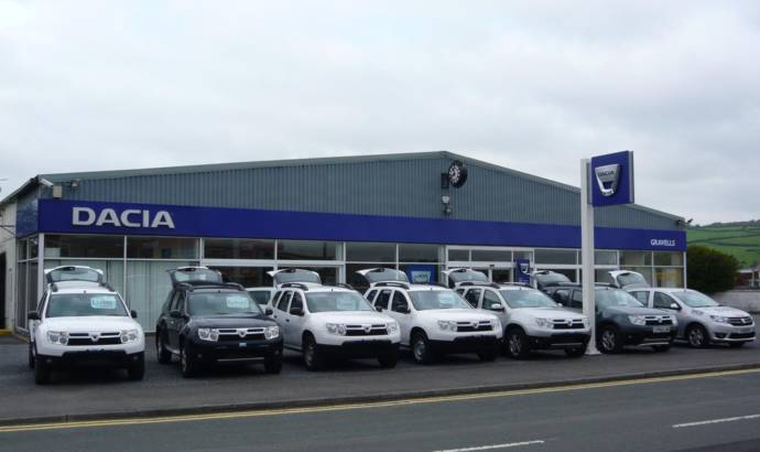 Dacia sold 17.000 cars in UK in its first year